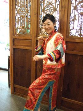 台湾 清時代の衣装