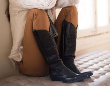 足のむくみでブーツがはきにくい